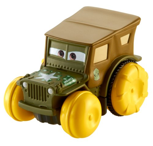 Disney Pixar – Cars – Hydro Wheels – Sergent – 1 Véhicule Nageur