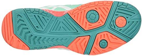 Women's Challenger White Multicolour Cockatoo Asics Gel Tennis Shoes 10 Coral Flash W xFdd7wE4q