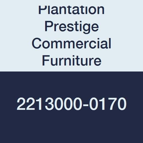 Plantation Prestige Commercial Furniture 2213000-0170 Round Solid Table Top, Steel Material Type, 30'', Platinum by Plantation Prestige Commercial Furniture