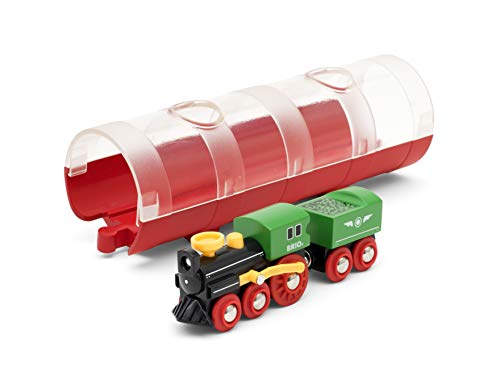 BRIO World - Tunnel & Steam Train