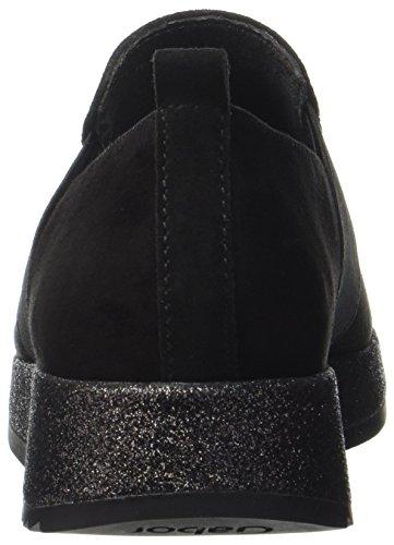 Zapatos Fashion Schwarz Derby de Gabor Cordones Mujer 17 para Negro 6qa5Cd