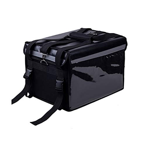 Wasserdichte Kühltaschen, Imbiss Lebensmittel Lieferung Multifunktions Kühltaschen Haushalt Picknick Im Freien Reise Schwarz Einfach Zu Tragen Isolierbox 32L