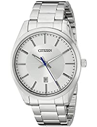 Mens Quartz Stainless Steel Watch with Date, BI1030-53A · Citizen