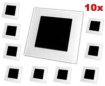 iluminaci/ón de escaleras foco de pared l/ámpara de escalera L/ámpara LED empotrable para escaleras foco de escaleras foco de pared 230 V 2 W IP20,