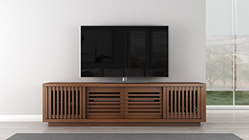 "Furnitech 82"" American Honey Oak Media Console. Model FT82WS"