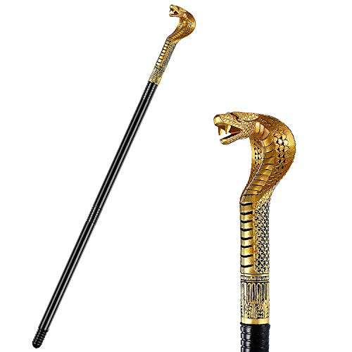 Egyptian Cobra Staff Cane Snake Walking Stick Cane for sale  Delivered anywhere in USA