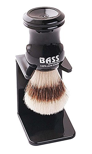 100% Boar Bristle Shaving Brush with Drying Stand