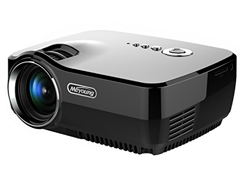 Meyoung Home Projector HD Video Projector 1080P 1200 Lume...