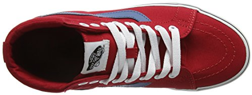 Rot Canvas Old Sneaker Vans Ashes Unisex Red Blue Racing Erwachsene Skool EXxqwRrIYw