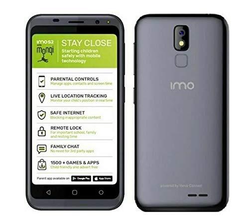 IMO S2 4G Smart Phone with Monqi 16GB Unlocked Sim-Free – Titanium Grey