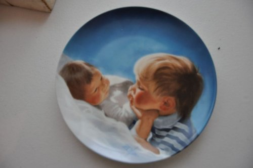 Brotherly Love Collector's Plate By Donald Zolan by Pemberton & Oaks