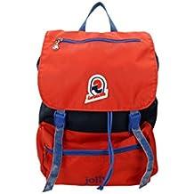 Backpack INVICTA - JOLLY III VINTAGE - Blue Red original - Laptop pocket – casual 18 LT