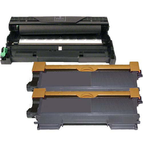 (1 Drum + 2 Toner) Inktoneram® Replacement toner cartridges & drum for Brother TN450 TN420 DR420 Toner Cartridges & Drum replacement for Brother DR-420 TN-450 TN-420 Set MFC-7360N MFC-7460DN MFC-7860DW DCP-7060D DCP-7065DN HL-2220 HL-2230 HL-2240 HL-2240