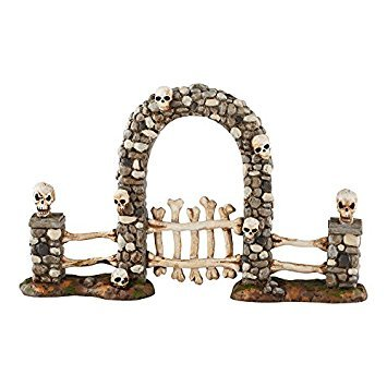 Department 56 Halloween Village Boneyard Gate Accessory, 4.25 inch]()