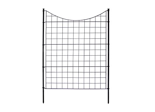Zippity Outdoor Products WF29002 Garden Metal Fence, 42