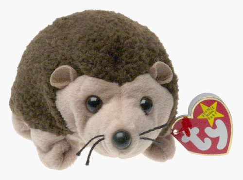 Prickles the Hedgehog - TY Beanie Baby by TY~BEANIES ANIMALS