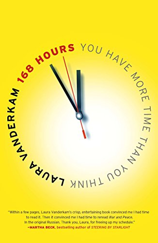 168 hours – You Have More Time Than You Think by Laura Vanderkam