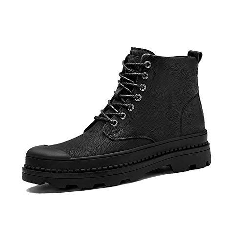 72745bb37cf1 Chaussures D outils Caoutchouc Lacets Abc Chaussures Désert Noir En Yixiny  nbsp martin uk6 Britannique Extérieur Pu Eu39 High cn39 Style top Lab ...