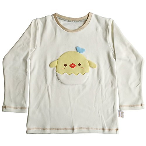 YISUMEI Baby Little Boy Glirs Long Sleeves T-shirt Cotton Chick 3T - 4T Chick Womens Tee
