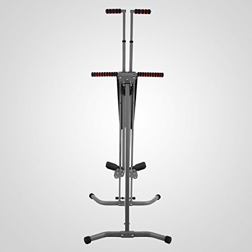 LCD Vertical Climber Stepper Climbing Machine Home Use Digital Calorie 200Kg by Happybeamy (Image #4)'