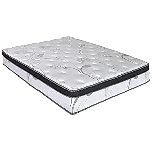 Olee Sleep 13 inch Galaxy Hybrid Gel Infused Memory Foam, Queen