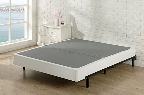 Zinus Jayanna 7.5 Inch High Profile BiFold Box Spring / Folding Mattress Foundation / Strong Steel Structure / No Assembly Required, Queen ()