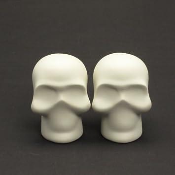 1 Paar Aus Keramik Unlackiert Totenkopf C Fur Hochzeitstorte