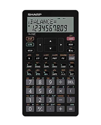 Sharp EL-738FB 10-Digit Financial Calculator