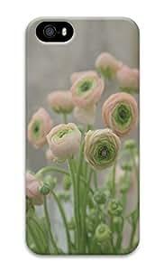 Unique Design Cases for iPhone 5 3D Little Flowers Cover