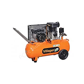 Villager - Compresseur d air 8 bars 2200 watts avec cuve 50 litres ... 19197d7b1357