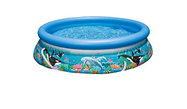 INTEX 12-28136GS - Piscina Inflable, Color Azul, 366 x 76 cm ...