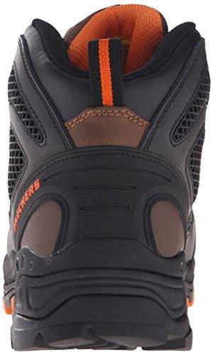 Skechers Per Lavoro Uomo Surren Impermeabile In Acciaio Punta Toe Boot Boot Marrone