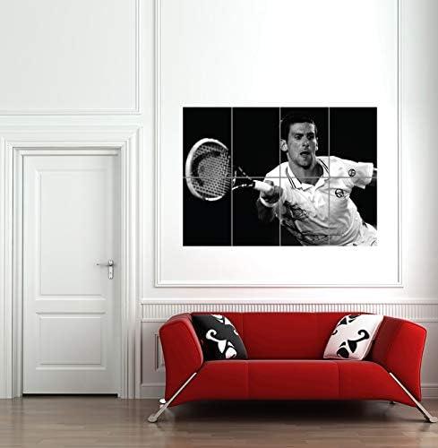 NOVAK DJOKOVIC TENNIS SPORT STAR NEW GIANT ART PRINT POSTER PICTURE G1134