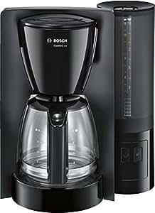 Bosch TKA6A043kahve makinesi Comfortline, Aromaschutz-cam sürahi, otomatik olarak terminal şalteri 20/40/60dakika, 1200W arasından seçim yapılabilir, siyah