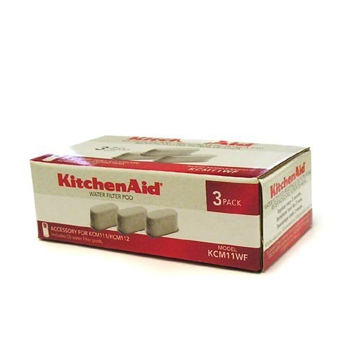 KitchenAid KCM11WF Water Filter Pod - 3 Pack (Kitchenaid Coffee Filter 69164 compare prices)