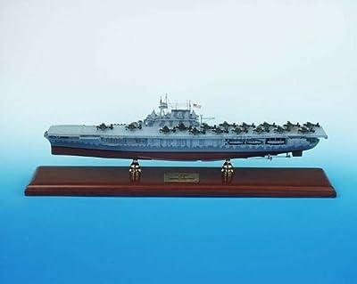 SCMCS008 Executive Desktop CV-8 Hornet Aircraft Carrier 1/350 Model