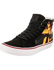 Vans x Thrasher Sk8-Hi Pro Sneakers (Thrasher Black) Mens Canvas Skate Shoes