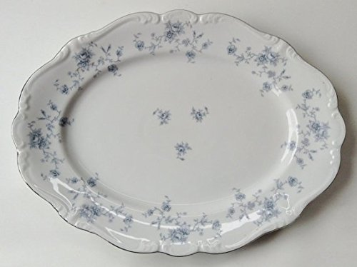 (Traditions by Johann Haviland Blue Garland Pattern Porcelain China Large Serving)