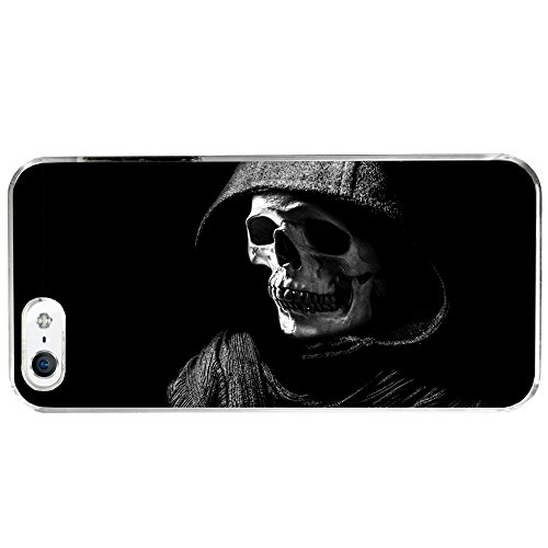 Halloween Scary Skeleton Grim Reaper Apple iPhone 5 / 5S Phone Case (Scary Halloween Stores)