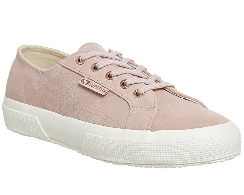Superga 2750 Cotu Classic, Baskets mixte adulte Rose Cloud Suede Exclusive