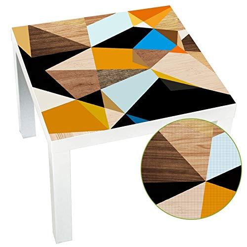 NO LOGO JS-whz Top! -DIY Mesa de la Cocina Etiqueta de Tela Impermeable extraible Peel y Muebles de Palo Etiqueta de la Pared Falta Tabla escritorios 55x55cm,Proteccion del Medio Ambiente e higiene