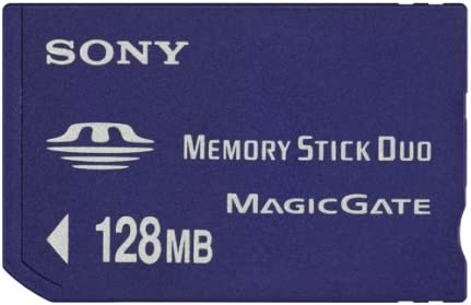 Sony Mshm128x Memory Stick Duo 128 Mb Computer Zubehör