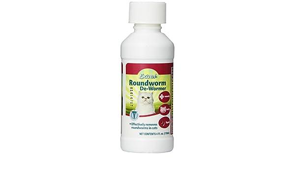 Excel ascarídeo líquido Cat de-wormer, 4-Ounce: Amazon.es: Productos para mascotas