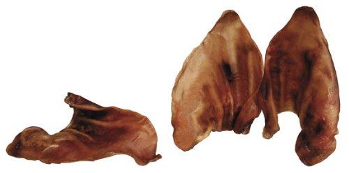 REDBARN Smoked Pig Ear Dog Chew, Naturals