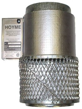 HMI Hoyme Manufacturing Inc. Motorized Fresh Air Damper for Combustion - 6