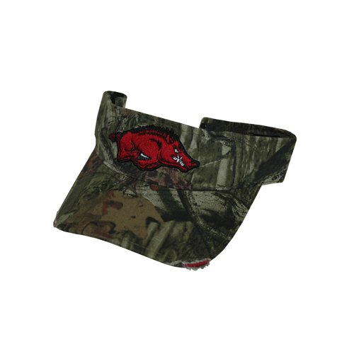 Game Day Outfitters NCAA Arkansas Razorbacks Cap Visor, One Size, Camo by Game Day Outfitters