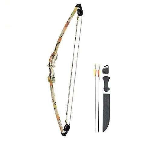 79 cm SET: Compoundbogen Hawk/® 31 Schwarz 20 lbs Cable Wire RH Kinderbogen // Jugendbogen