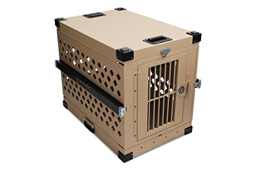 Impact Dog Crates (Collapsible, 450 Model, X-Large, Tan in Color