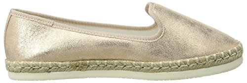 Mar Gold Foot Wide Rose Women's Gold New Espadrilles Look wnY4xEwqt