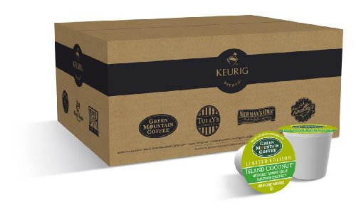 (Green Mountain Coffee, Island Coconut K-Cup Portion Pack for Keurig Brewers, 50 count )